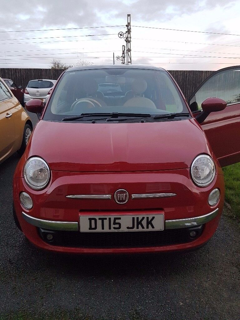 Lovely red fiat 500 brilliany condition