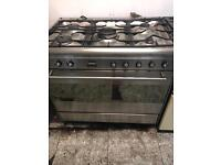 Range gas cooker and electric ovens smeg 90cm
