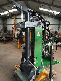 30 ton Professional Log Splitter, 500Kg cable winch, 3 Point Linkage mount, PTO driven