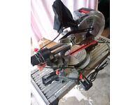 Wicks 1500w 210mm compound sliding mitre saw