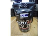 USN Muscle Fuel Anabolic Muscle Gain Shake Powder, Chocolate, 2 kg * Collect Leeds LS17 & Post *
