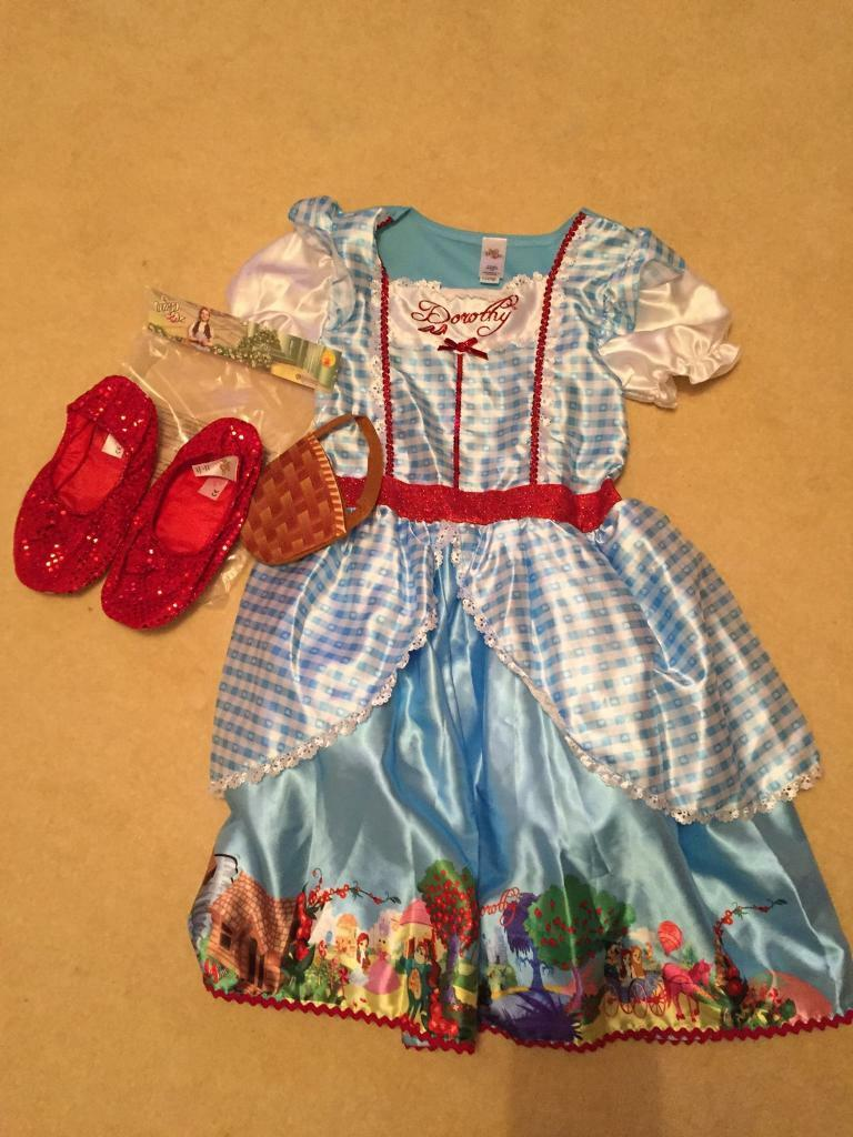 Dorothy Wizard of Oz dress up outfit Age 11-12