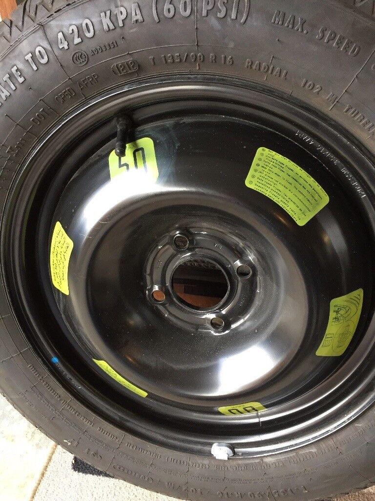 Space Saver Spare Wheel & tyre