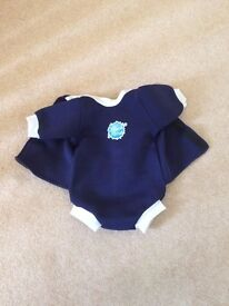 Baby little splashes 3-6 months swimsuit and changing mat in excellent condition
