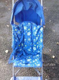 Mothercare lightweight stroller.