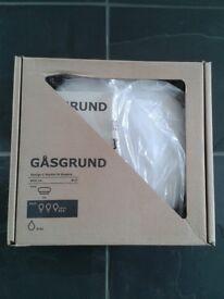 Ikea Gasgrund Flush Ceiling Light 30cm IP44