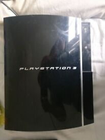 PlayStation 3 console with 2 controllers 16 GAMES