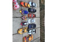 Rc cars shells & spares