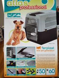 """Dog crate / carrier """"atlas professional"""" 81x55.5x58cm"""