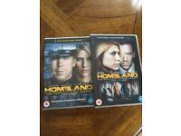 HOMELAND - Complete Sets Of Series 1 & 2 - (8 DVDs / 24 Episodes)