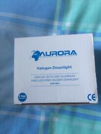Halogen down lights