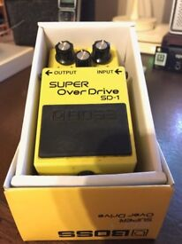 Boss SD-1 Over Drive Pedal