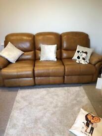 La z boy 3 seater recliner sofa