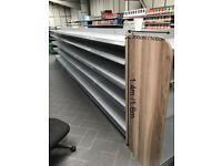 shelving wood end panels