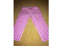 Girl's Benetton trousers, size XS