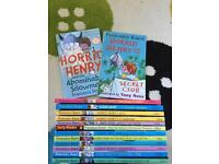 14 Horrid Henry Books