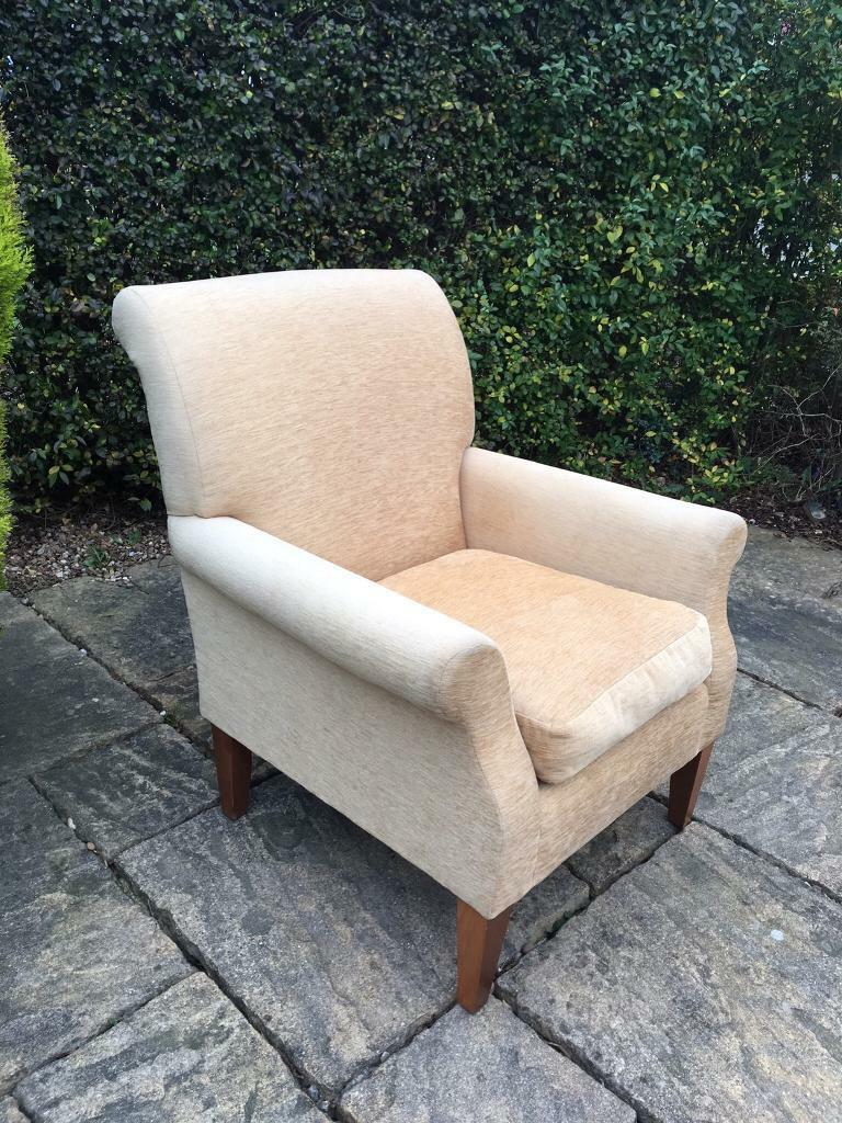 Cream M&S Armchair Reading Chair Lounge Marks & Spencer's ...