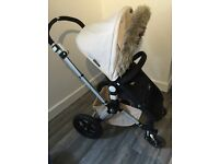Bugaboo Cameleon fur buggy special edition with extras