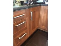 Kitchen cupboard doors and handles