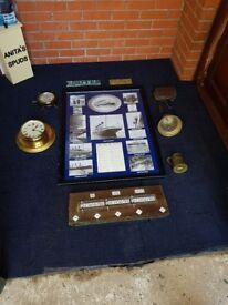 Old titanic collectibles