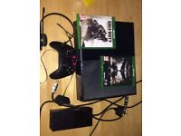 XBOX ONE KINECT 2 GAMES,CONTROLLER, HEADSET IN BOX