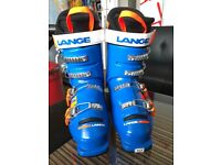Lange ski race boots size 24.5