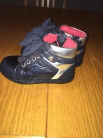 Girls mayoral boots size 8 £10