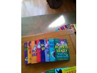 8 HORRID HENRY BOOKS IN GOOD CONDITION