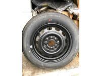 "NEW Bridgestone Tyre 185/65 R15 on steel rim 15"""