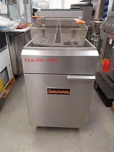 """Friteuse XL Deep Fryer 150,000BTU , 21"""" 75-80 Lbs   SIERRA"""