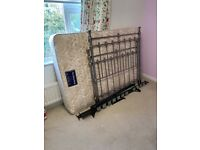 Double bed with Sleep Shop mattress