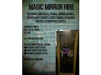 SPECIAL OFFER Magic mirror hire (photo booth, photography)