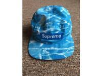 Supreme Blue Ripple Cap
