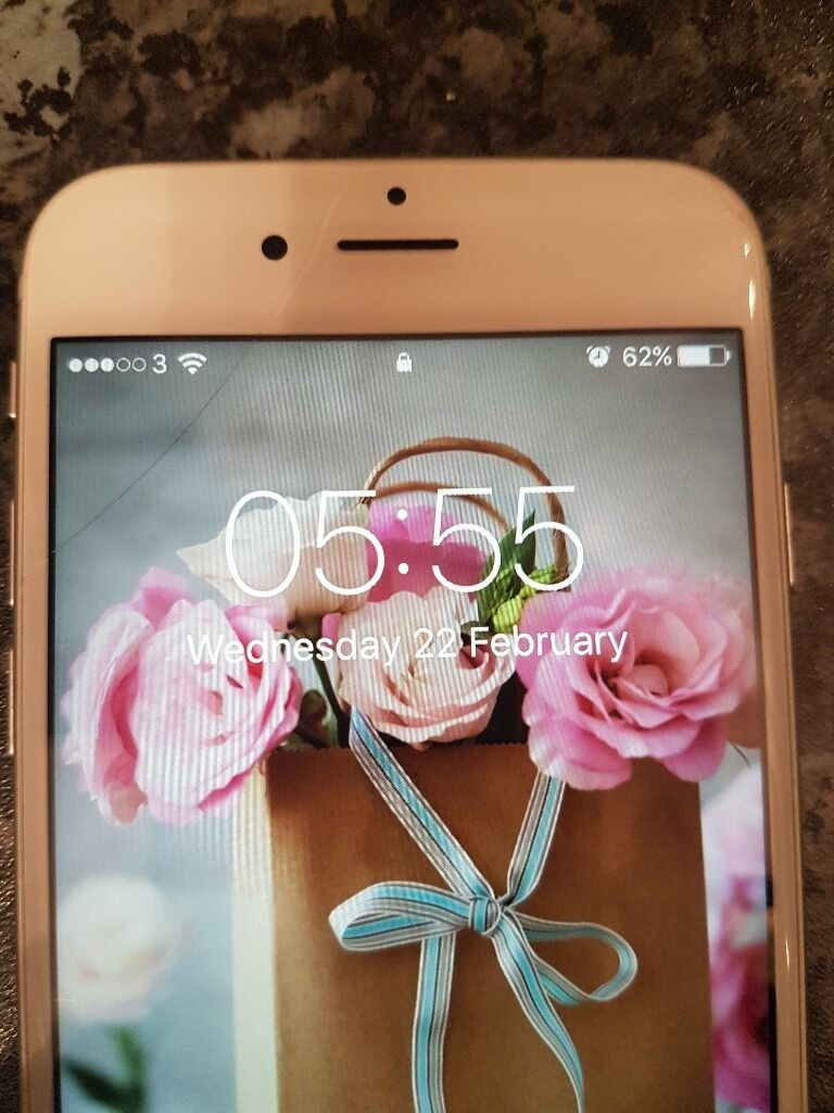 Iphone 6s silver 128gb unlockedin Dunstable, BedfordshireGumtree - For sale I have my Iphone 6s which I have for about 8 9 months. In pretty good condition appart from a small crack in the screen that doesnt affect the touch screen or whatever. Dont come with silly offers please