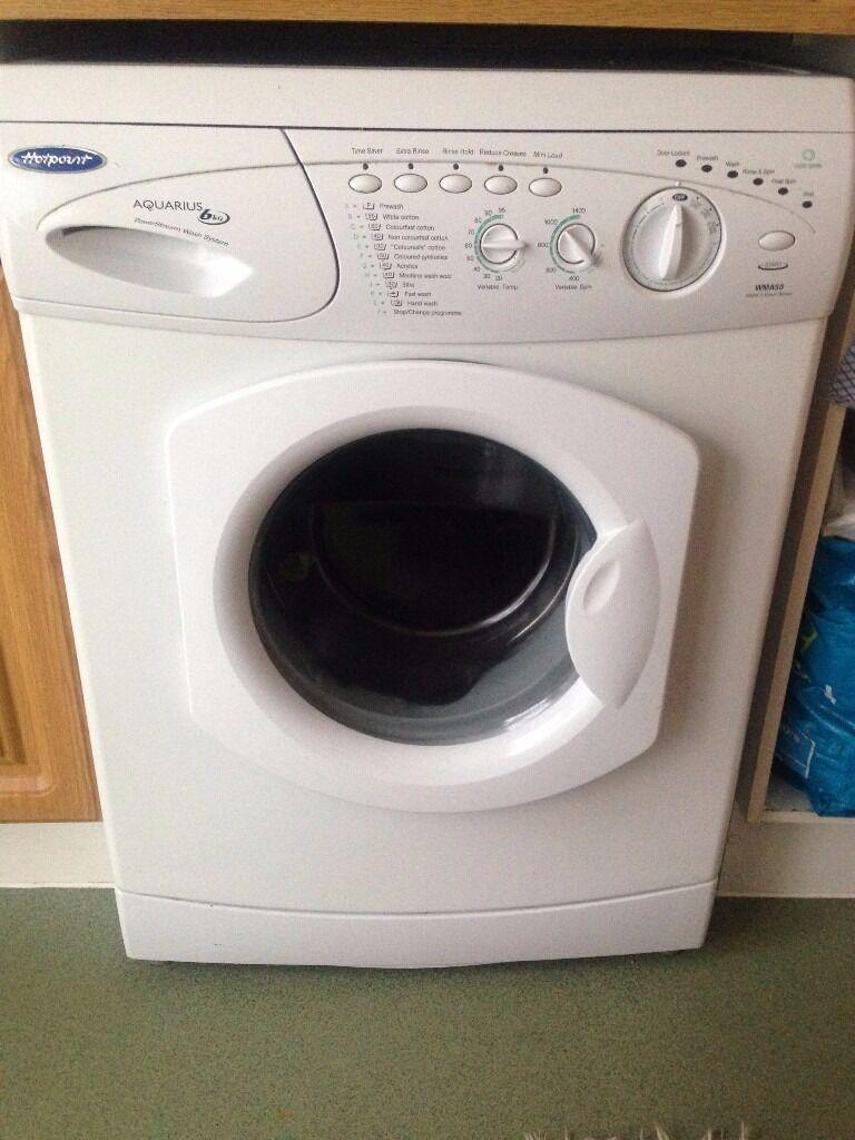 Hotpoint Washing Machine Aquarius