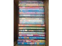 20 assorted children's dvds