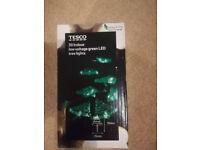 Tesco 30 Indoor Low Voltage Green LED tree lights