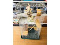 Chipmunk, rat or ferret cage