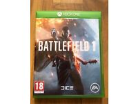 Battlefield one , Xbox one , as new ! Price stands , no offers !
