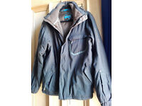 Salomon black winter jacket M/L very good condition