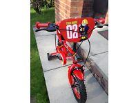 """Apollo Children's Firechief 12"""" bike £45"""