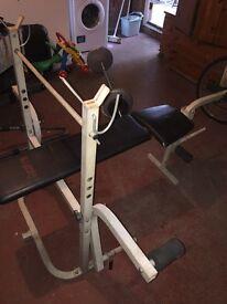 Bench press multi gym