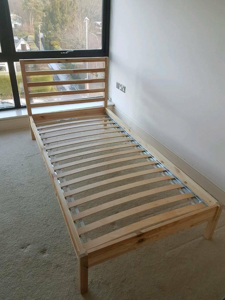 sports shoes c600e 87557 Ikea Tarva single bed | in Verwood, Dorset | Gumtree