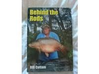 Bill Cottam.Behind the rods, Carp, nutrabaits,