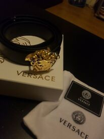 Versace Belt Men 115CM Genuine