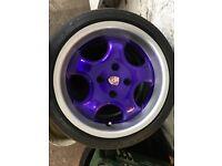 15 inch Vauxhall wheels