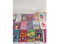 Jacqueline Wilson etc books ( used) good reading conditions