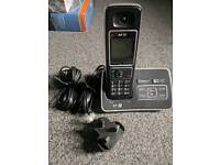 Bt single digital cordless phone with answering machine