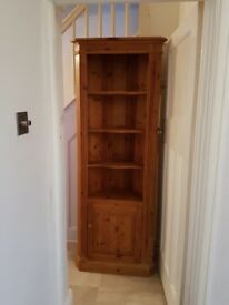 Pine Corner Cupboard and matching TV unit - Will sell separately £25 each