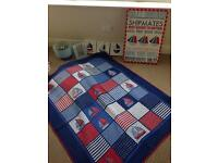 Boys Nautical Bedroom Furnishings
